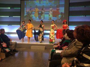 コサージュ出展 アトリエ美の精創立10周年記念ファッションショー